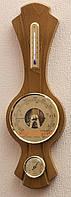 Фигурный настенный  барометр с гигрометром и термометром 203261 дуб Moller 914592.