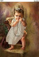 """Схема для вышивки бисером """"Маленькая принцесса"""""""