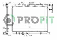 Радиатор охлаждения Peugeot 307 00-, Partner 96-, Citroen c4 04-, Berlingo 96- (-AC)