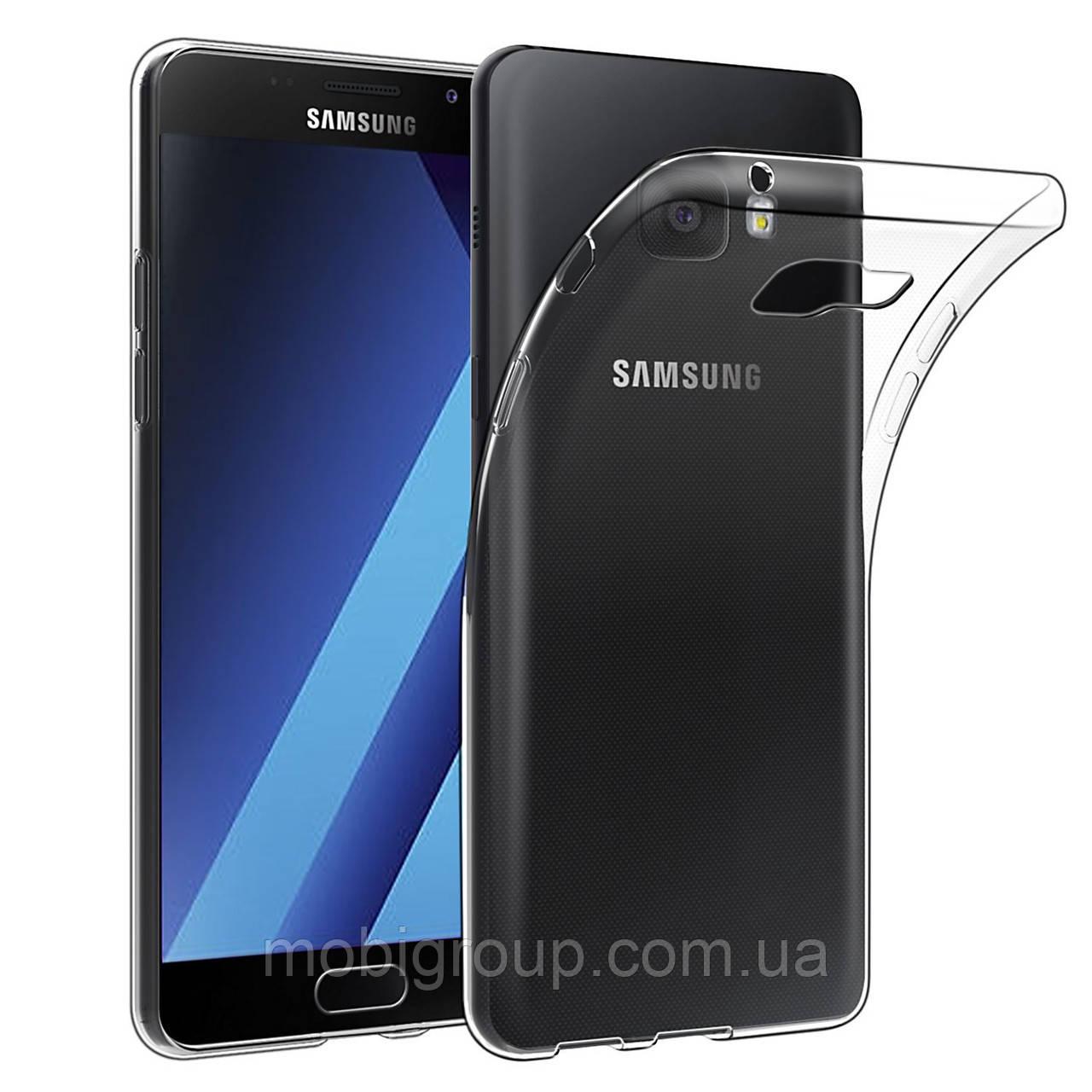 Силиконовый чехол 0,3 мм Samsung A720 (2017)