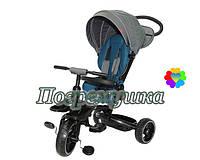 Детский трехколесный велосипед Crosser T 600 Eva - Синий