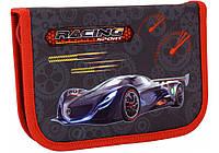 Пенал твердый Racing Sport 1 отделение с 2 отворотами