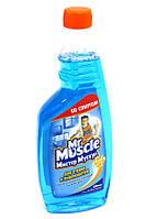 Запаска Мистер Мускул для стекол Спирт 500 мл 001020