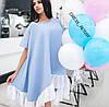 Женское стильное платье свободного кроя ,в расцветках, фото 2