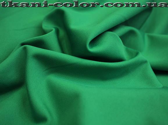 Микродайвинг трикотаж зеленая бирюза, фото 2