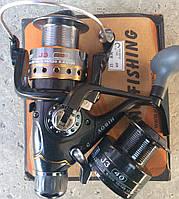 Катушка с байтранером BoyaBy J3 40, 8+1bb металл