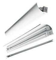 Отражатель для светильника с открытой лампой OSE-136, белый, асимметричный