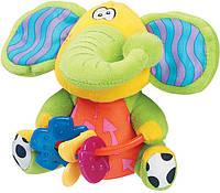Игрушка с прорезывателями Playgro Слоненок 10 см (0111867)