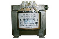 Трансформатор понижающий  0,25кВА 220/12;220/36