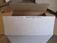 Ящик на клапанах №17 серый, белый 380х285х228