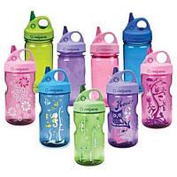 Бутылка для воды детская NALGENE Grip'n Gulp 350 ml Pink /Elephant