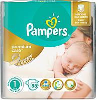 Подгузники Pampers Premium Care 1 Newborn (2-5 кг) 88шт