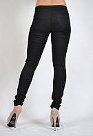 Лосины джинсовые  (джеггинсы) VIGOSS арт.36713-чёрн., фото 1