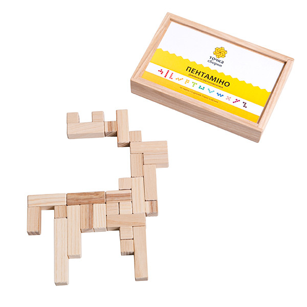 Игра-головоломка Точка сборки -Пентамино