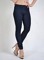 Джеггинсы лосины джинсовые синие без варки (джеггинсы) VIGOSS арт.36713-син., фото 1