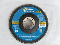 Круг лепестковый торцевой NOVO 125 Standard P120, фото 1