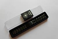Браслеты металлические черного цвета INOX к часам-браслеты из нержавеющей стали 22 мм