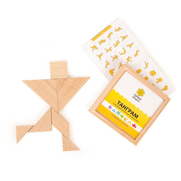 Танграм (Tangram) Игра-головоломка Точка сборки