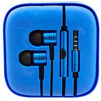 Наушники Xiaomi piston v2 Blue с микрофоном