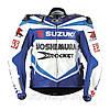 Мотокуртка SUZUKI SU-02-BL (PL, нейлон, р-р L,XL,2XL,3XL, цвет синий)