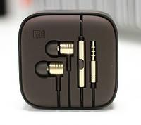 Наушники Xiaomi piston v2 Gold с микрофоном
