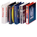 Папка-регистратор для коммер.предложений, корешок 25 мм / механизм 15 мм, белый, ESSELTE, фото 2