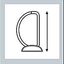 Папка-регистратор для коммер.предложений, корешок 25 мм / механизм 15 мм, белый, ESSELTE, фото 3
