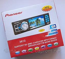 """Автомагнітола Pioneer MP5-3612 з екраном 3,6"""" MP5, фото 2"""