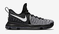 Кроссовки Nike KD 9 Black White