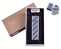 """Спиральная USB зажигалка """"Hasat"""" №4800-1, стильный и современный гаджет, двухсторонняя спираль накаливания"""