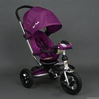 Трехколесный велосипед Best Trike аналог Crosser T-350, фиолетовый
