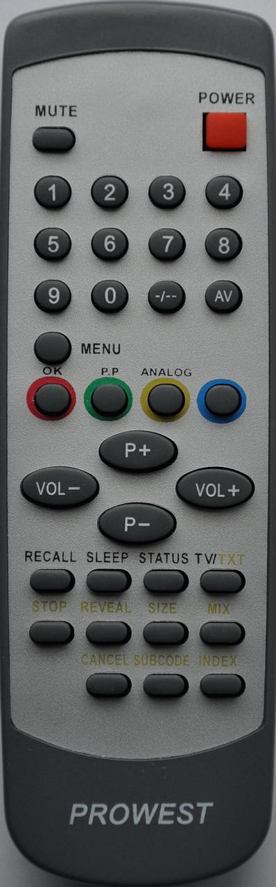 Пульт к телевизору  VIDIMAX VD2151TF