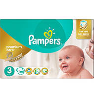 Подгузники Pampers Premium Care 3 Midi (5-9 кг) 120 шт