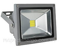 Прожектор светодиодный ENERGIO 10Вт 6000К серый ІР65