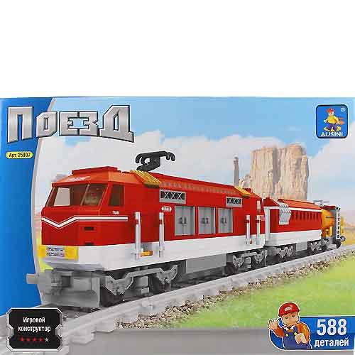Детский конструктор Ausini Поезд