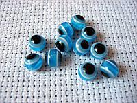 Глаза для игрушек. Голубые, 6 мм