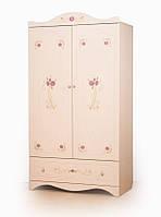 """Удобный и вместительный шкаф """"Provence"""" (Размер: 107х52х42см см) ТМ Вальтер-С Венге светлый - Ваниль HY-1.10. V8"""