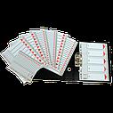 Разделители пластиковые из ПП A4 Esselte, 5 листов, фото 2