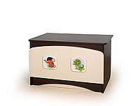 """Ящик для игрушек """"3 в 1"""" (Размер: 80х49х65 см) ТМ Вальтер-С Венге светлый + Орех темный Y-4.56"""