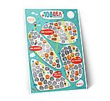 Мотиваційний скретч постер 1DEA.me 100справ JUNIOR edition (російською мовою), фото 5