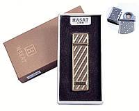 """Спиральная USB зажигалка """"Hasat"""" №4800-4, оригинальный подарок другу, коллегам, стильный гаджет, практично"""