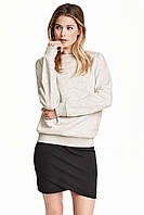 Новая юбка на запАх H&M