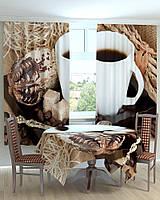 """Комплект на кухню """"Чашка кофе и пироженное"""""""