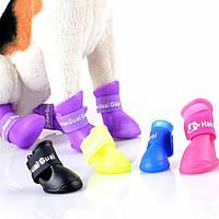 Резиновые сапоги для больших собак XL-XXL. Обувь для животных