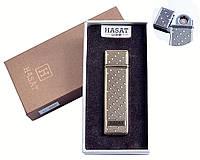 """Спиральная USB зажигалка """"Hasat"""" №4800-6, забудь о газе и бензине, выбрось спички, этот аксессуар заменит все"""