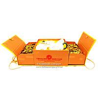 Чай китайский Подарочный набор Лапсанг Сушонг 54шт+сервиз
