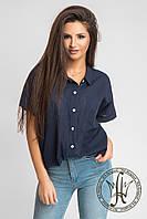 Рубашка женская / лён, батист / Украина, фото 1