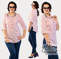 d36c95f4b39 Женская рубашка в полоску . Новинка 2016!