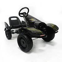 Детский веломобиль, педальный картинг, мягкие EVA колёса,  Bambi M 3416-2