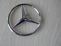 Эмблема z Mercedes Vito 85.3мм нового образца наклейка на авто задняя на направляющих без скотча кузовная